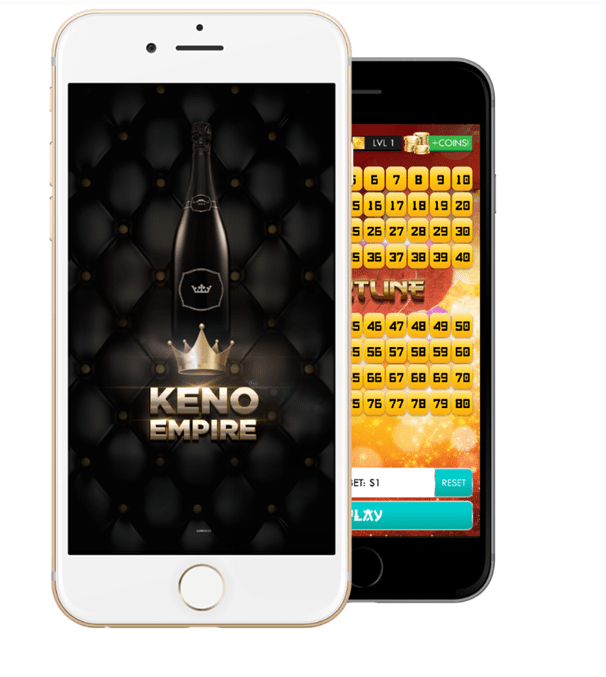 Keno Empire game app