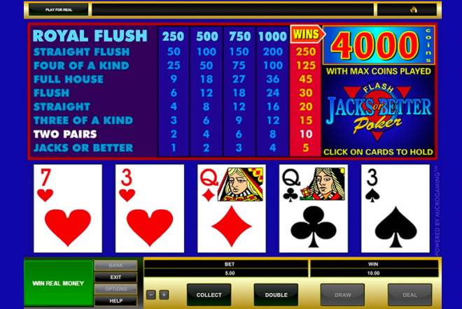 How to play Basic Video Poker