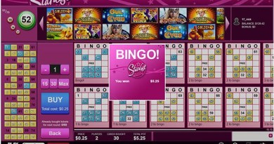 What are the three main Bingo Rooms at Play Now Canada to play Bingo