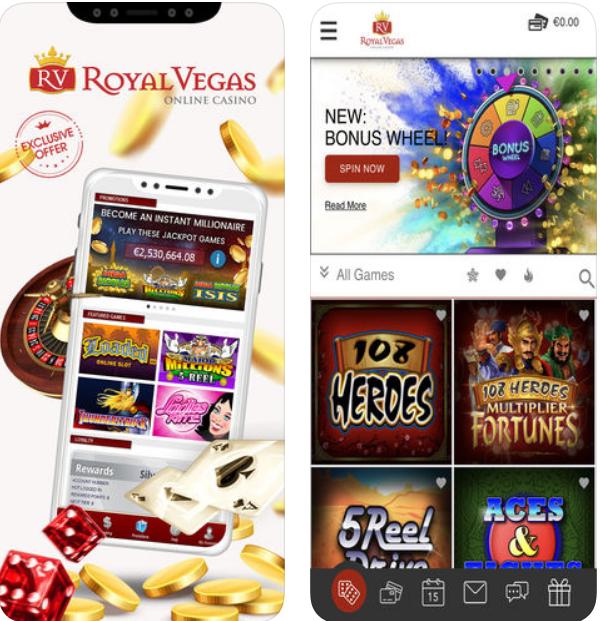 Royal Vegas Casino Mobile