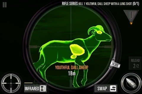 Infrared to Hunt Down Animals