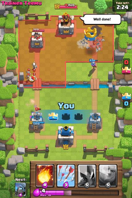 Clash Royale Map