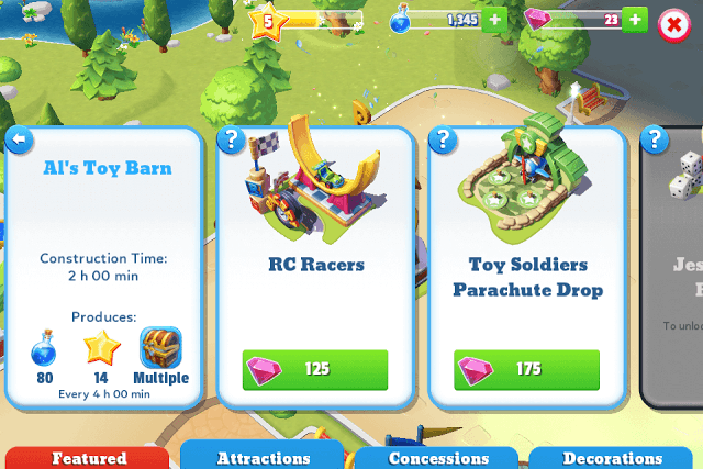 Add Attractions