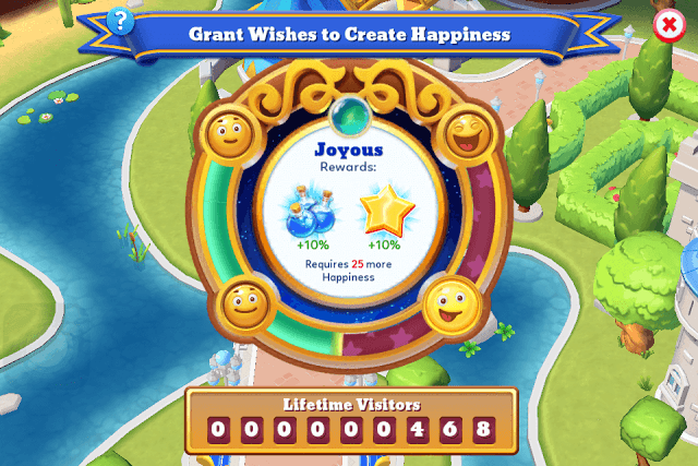 Grant Wishes to Create Happiness