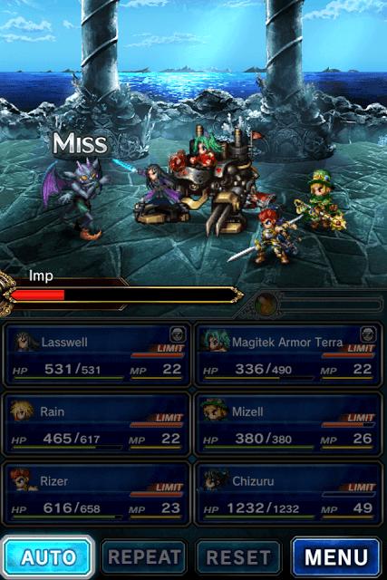 Final Fantasy Brave Exvius Auto-Battle