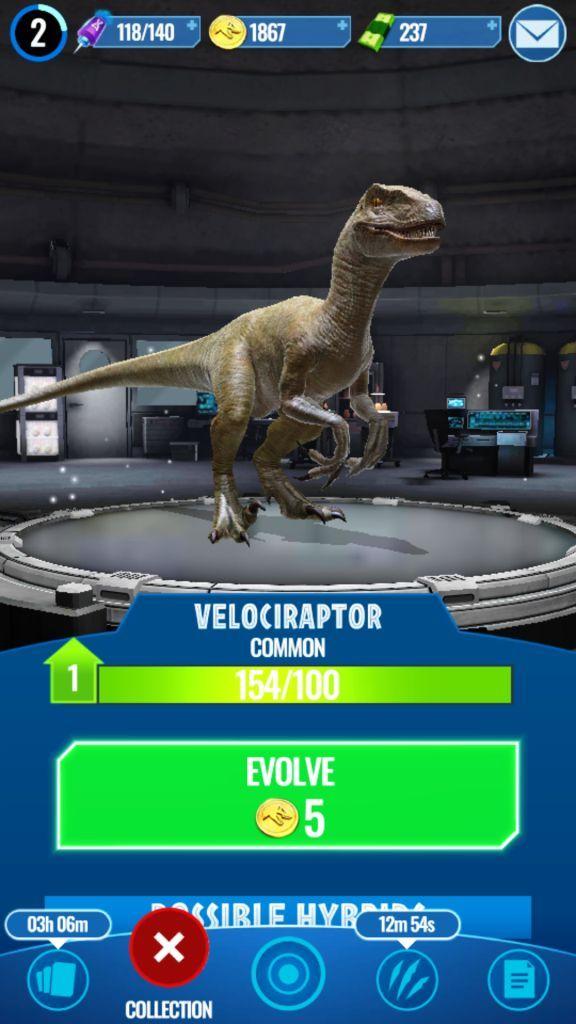 Evolving a Dinosaur