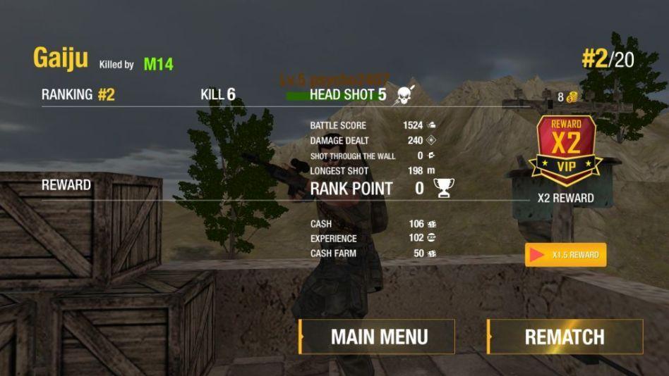 Get Rewards after a Battle