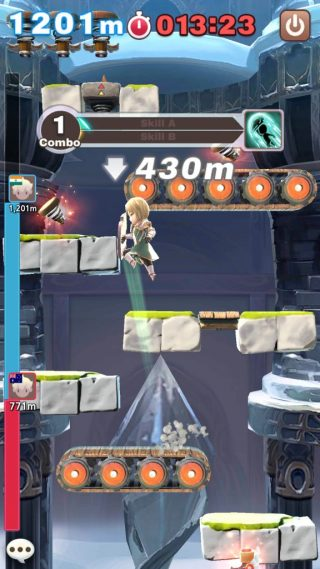 PvP Match in Jump Arena