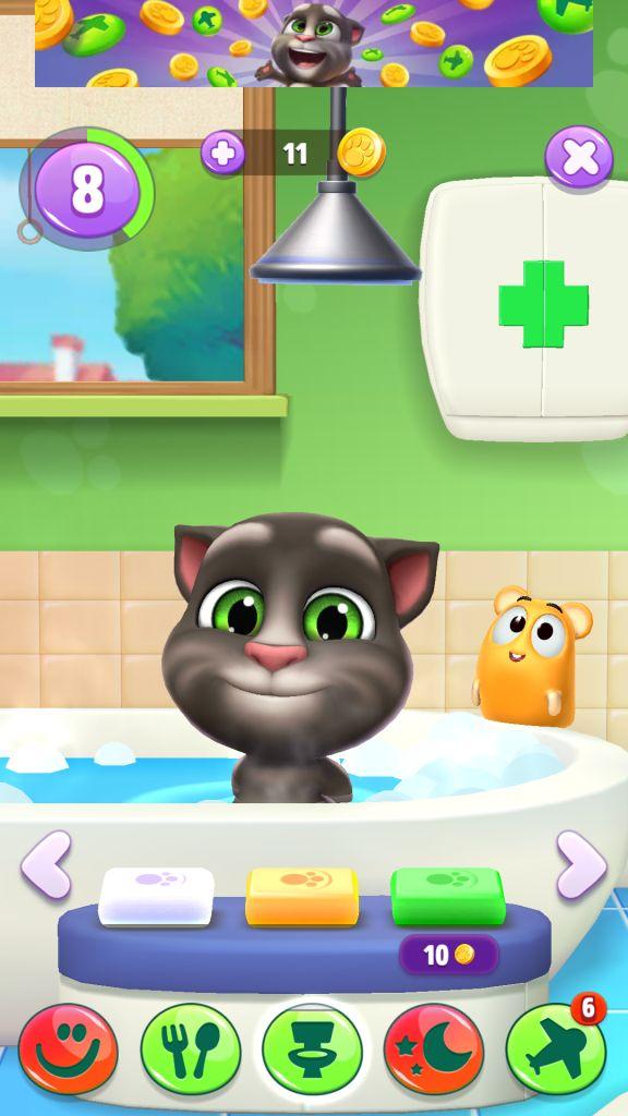 Tom Loves Bathing