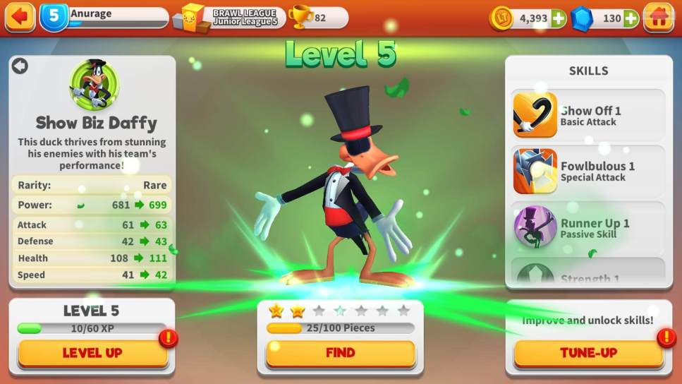 Level Up Daffy Duck