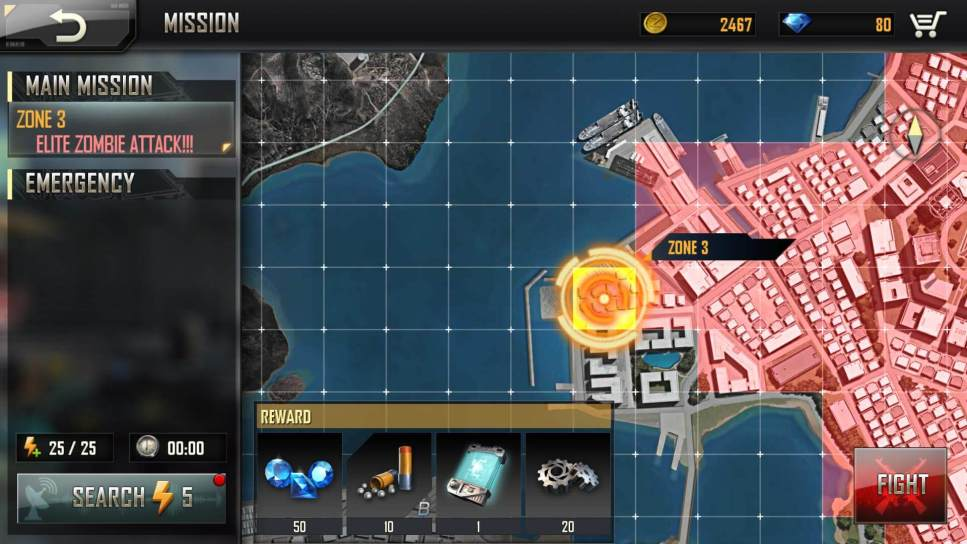 Get Nanometer From Elite Zombie Mission