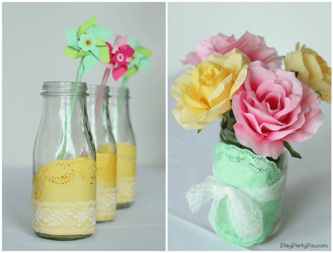 Baby Shower Centerpieces For Boy Diy Wall