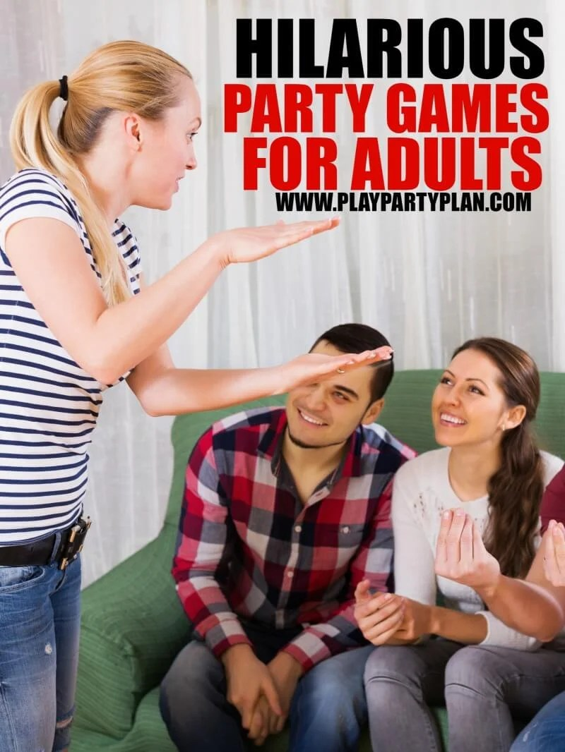 game play Adult valentine party