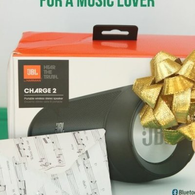 Gift Idea for Music Lovers: JBL Portable Speaker {Giveaway}