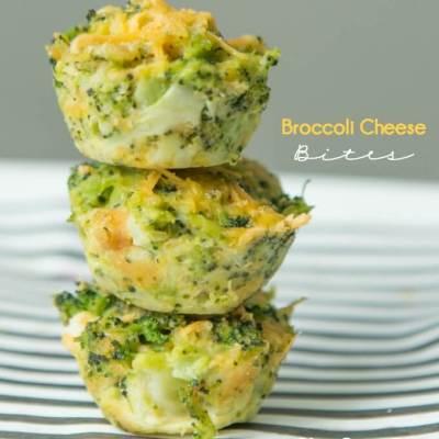 Easy Broccoli Cheese Bites