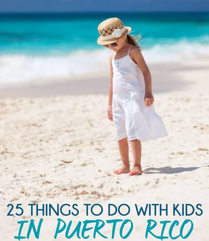 This list of 25 things to do in Puerto Rico with your kids just made me realize we need to plan a family vacation in Puerto Rico!