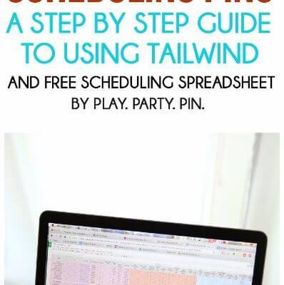 How to Save Time Scheduling Pins with Tailwind