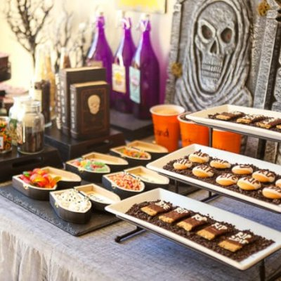 Dig Your Own Graveyard Dessert Bar