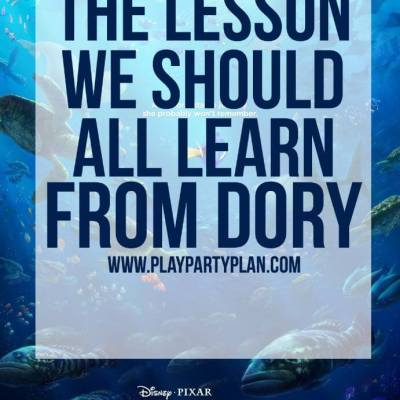 The Lesson We All Should Learn from Dory