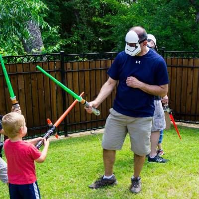 Jedi Training Academy Star Wars Party Ideas