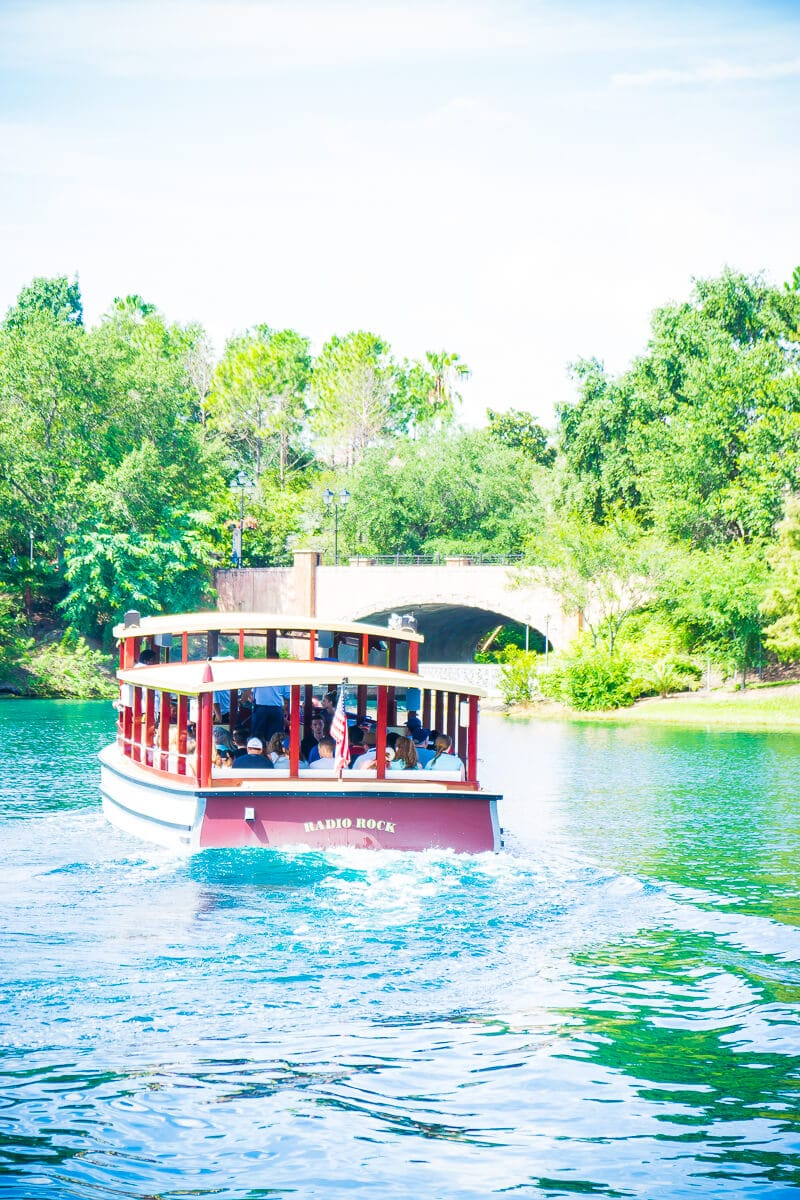 Water taxis get you to Islands of Adventure and Universal Studios Orlando quickly