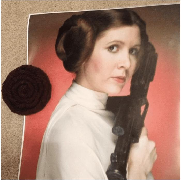 Fun pin the bun on Lei Star Wars party game ideas