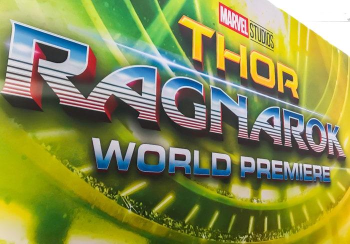 Insider look at the Thor: Ragnarok Red Carpet World Premiere