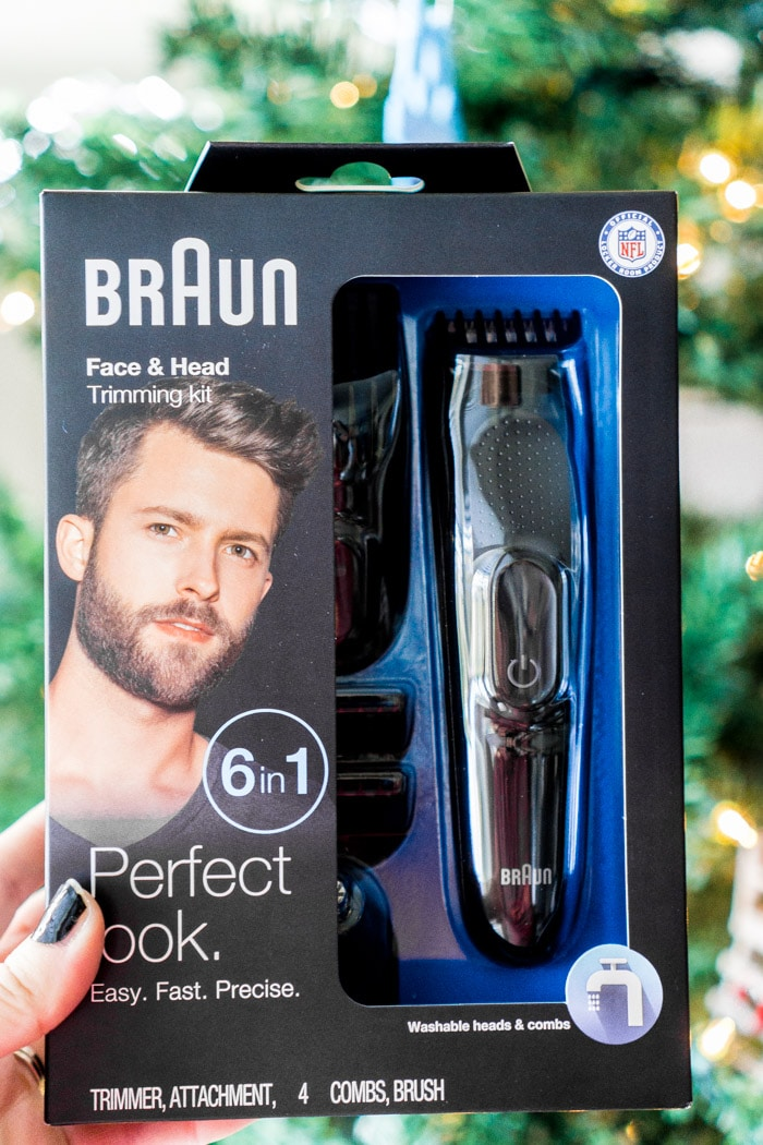 A beard trimmer is one of the best stocking stuffers for men