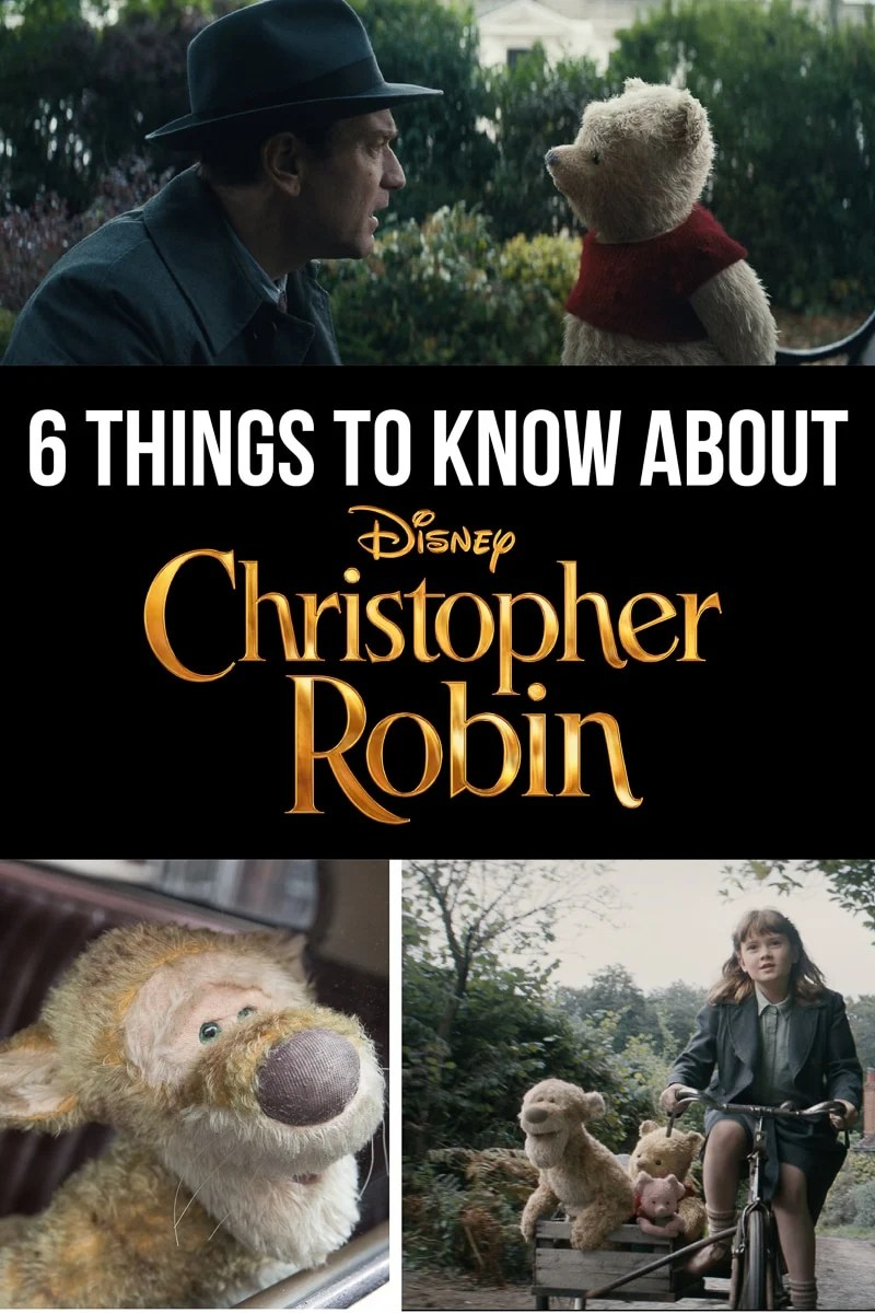 Everything you need to know about Disney's Christopher Robin movie - cast, release date, insider secrets, and more!