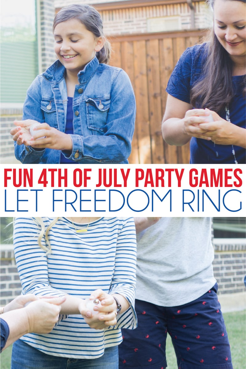 4th of July games with bells