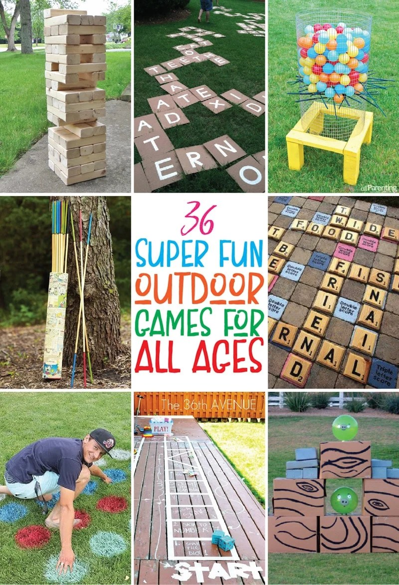 Fun Outdoor Yard Games