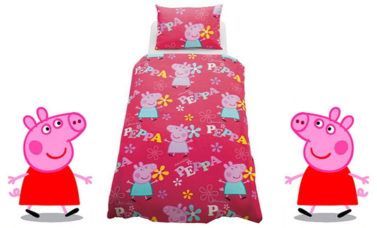 Peppa Pig Toddler Bed In A Bag 14 99 Argos