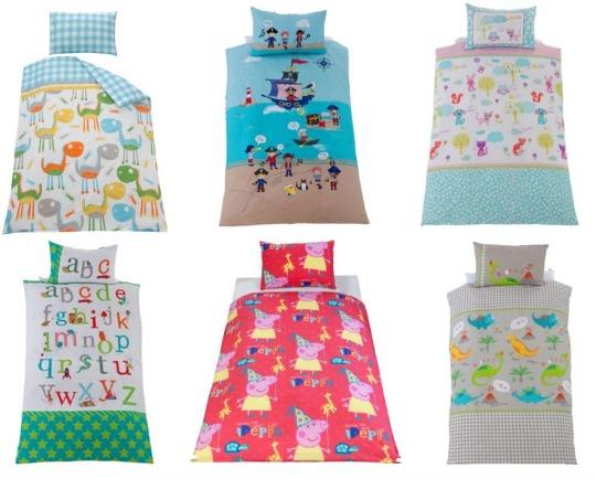 Toddler Duvet Cover Sets From 4 99 Argos