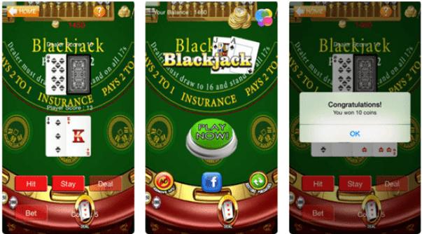 Blackjack 21 free app