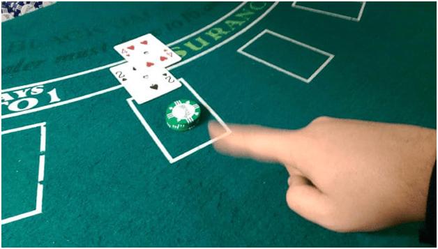 Blackjack surrender policy