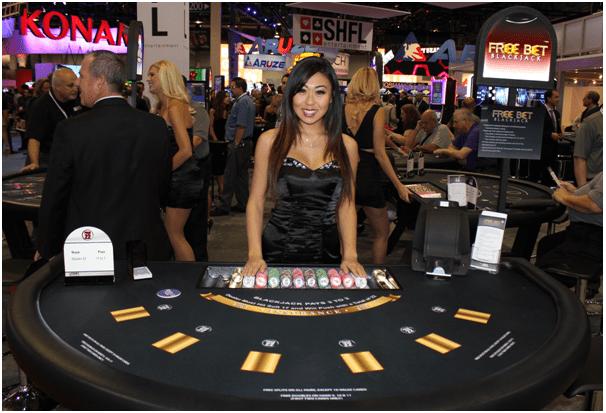 Free Bet Blackjack variant