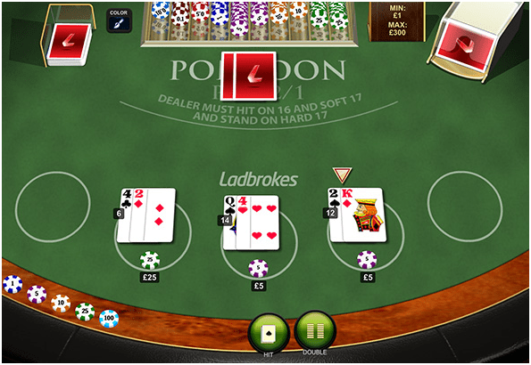 Playtech Pontoon how to play