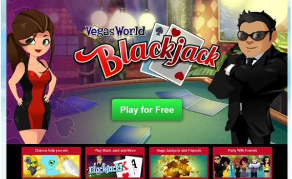 Vegas World Blackjack