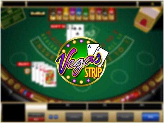 seven blackjack variants- Vegas strip