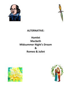 Alternative Shakespeare