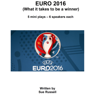 Euro 2016 PRIDE Guided Reading Scripts