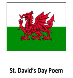 St. David's Day Poem