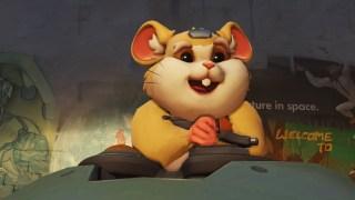 Un hamster comme nouveau héros d'Overwatch