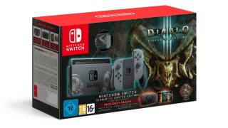 Un pack Diablo III de la Nintendo Switch