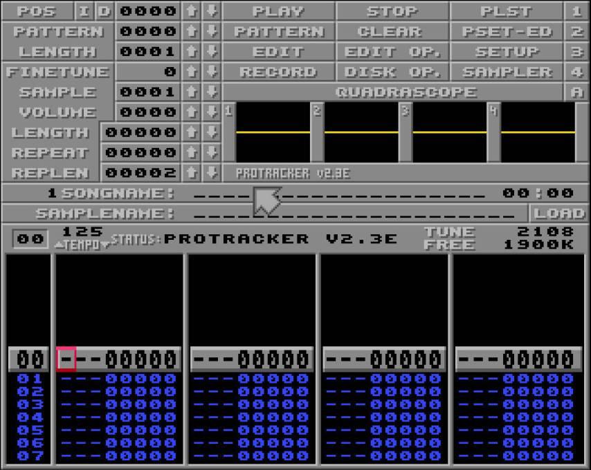 protracker sur Amiga