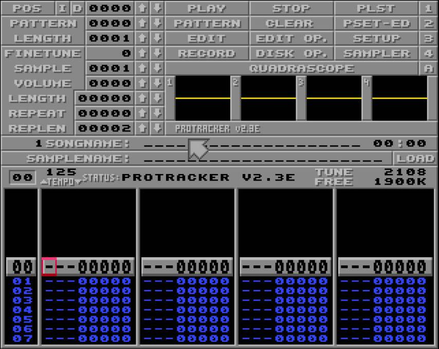 protracker sur Amiga