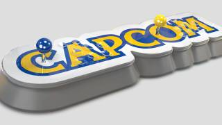 Un double stick arcade console avec le Capcom Home Arcade
