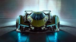 Sony et Lamborghini dévoilent la Lambo V12 Vision Gran Turismo