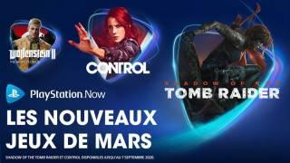 PlayStation Now – Les nouveaux jeux de mars 2020