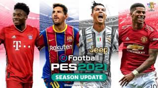 Messi et Ronaldo ensemble sur eFootball PES 2021 Season Update